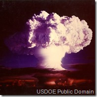 Hydrogen bomb Ivy Mike - Public Domain US Dept of Energy